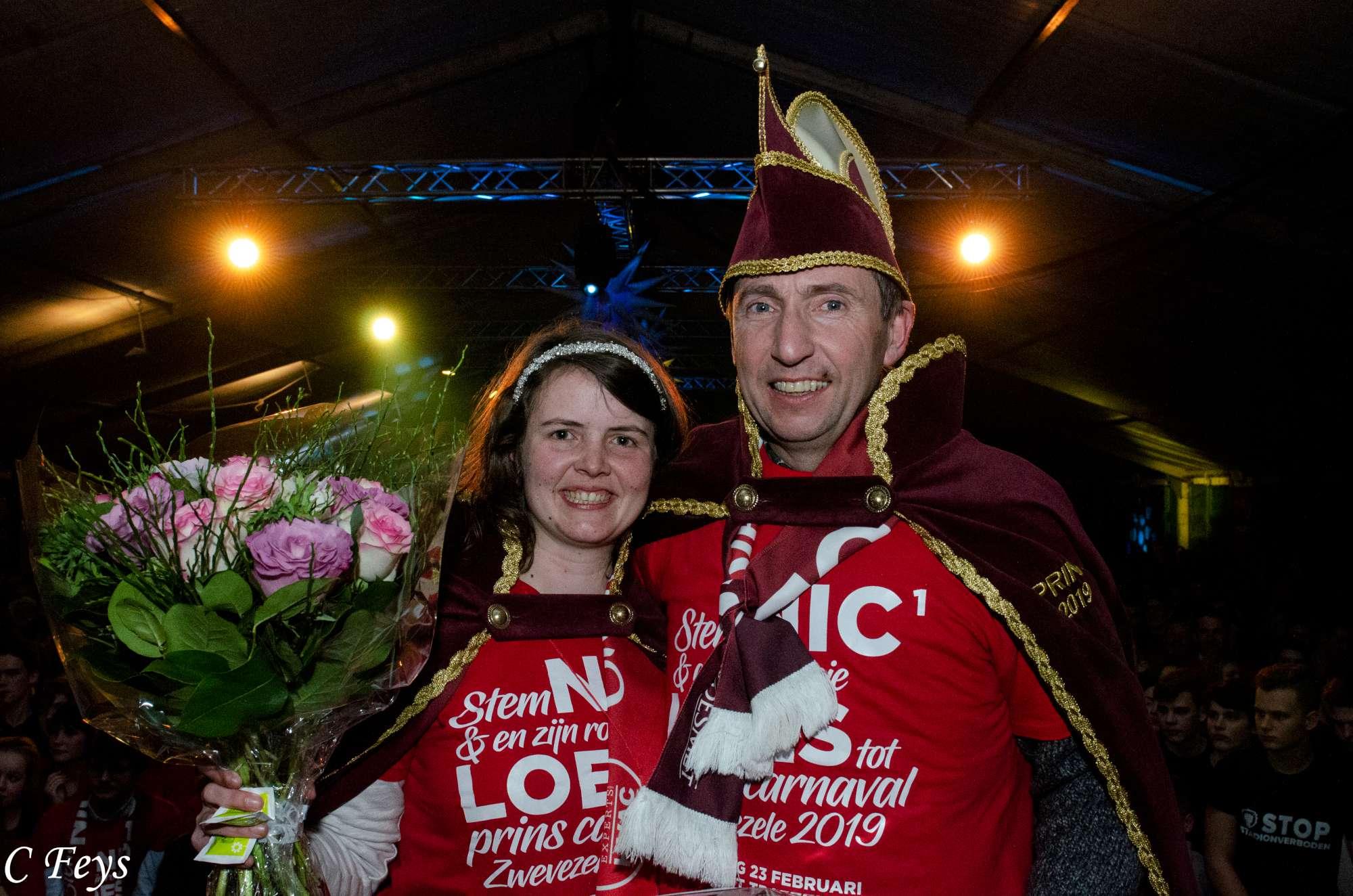 Nic 1 & Roosje Loes prins carnaval 2019