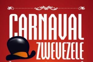 Affiche Carnaval Zwevezele edite 2016 jaargang 48